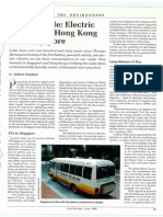 Electric Vehicles in HK and Singapore
