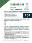 Caderno de Exercicios Termologia