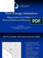 New Energy Initiatives for Dairies & Waste Water