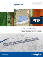 Technical Installation Guide Above Below Ground Drainage