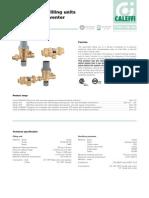 Caleffi Autofeed Backflow Valve Combination Brochure