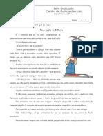 1 - Teste Diagnóstico Portugues 5º Ano