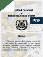 Seguridad Personal y Responsabilidad Social