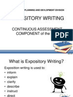 4Expository Writing Across the Curriculum REVISIONS