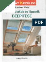 Ajtók, ablakok és lépcsők beépítése