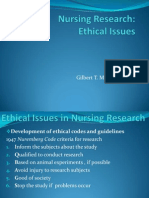 Ethical Isuues by Gil