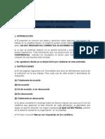 Cuestionario Clima Organizacional Empresa Magasa