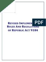 RevisedIRR.RA9184
