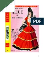 Caroline Quine Alice Roy 30 IB Alice au bal masqué 1953