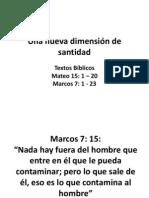 Una nueva dimensión de santidad