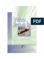 Who Jesus Is - Elton G. Hill