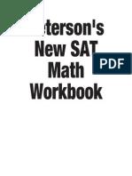 Sat Math Workbook Print