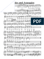 118816446 Scales and Arpeggios Piano Sheet
