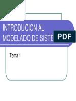 Introducion Al Modelado de Sistemas