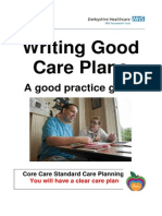 Writing Good Care
