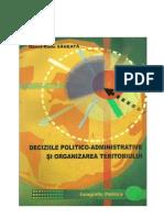 Deciziile Politico-Administrative Si Organizarea Teritoriului
