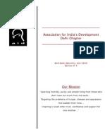 AID Delhi newsletter October 2005