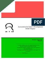 AID Delhi newsletter August 2005