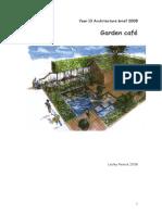 Garden Cafe Design Brief