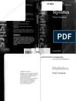 Peter Verdonk Stylistics
