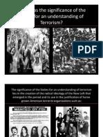 Terrorism Presentation