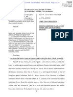 Looney v Moore-Fourth Amended Complaint 1-31-14