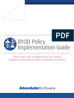 BYOD Policy Implementation Guide