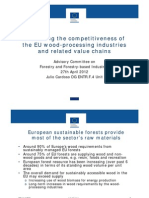 Enhancing EU Wood Processing Industry