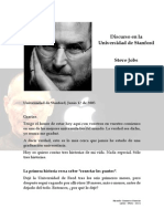 Discurso en la Universidad de Stanford - Steve Jobs