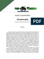 Fondebrider, Jorge - Licantropia, Historias de Hombres Lobo en Occidente