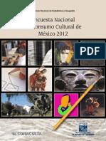 Encuesta Nacional de Consumo Cultural de México 2012
