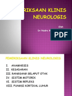 pemeriksaan fisis neurologi