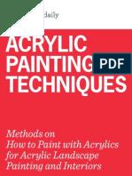 AcrylicPaintingTechnique