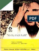 Lucio Battisti - Io Tu Noi Tutti