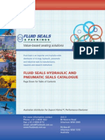 Fluid Seals and Packings - Hydraulic and Pneumatic Seals Catalogue