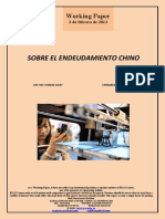 SOBRE EL ENDEUDAMIENTO CHINO (Es) ON THE CHINESE DEBT (Es) TXINAREN ZORPETZEAZ (Es)