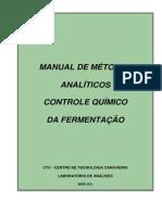CTC - Controle Químico da Fermentação
