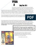 Yr2 Newsletter Spring 2014