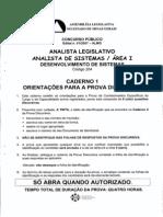 Analista Legislativo Analista de Sistemas Area i Codigo (1)