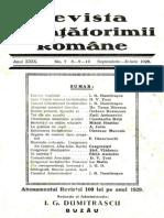 Revista Învăţătorimii Române, nr. 7-10, 1929