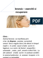 Astmul Bronsic _ Exercitii Si Recuperare
