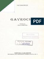 Povesti Copii Victor Hugo Gavroche