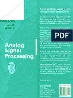 Analog Signal Processing Ram n Pall S-Areny John G. Webster