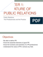 public relation chapter 1