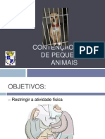 2 - Contencao Fisica de Pequenos Animais, Semiologia Das Mucosas, Linfonodos e Termometria