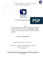 01. La gestión institucional... Martha Marcela Rodríguez Reskala
