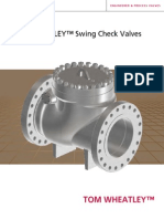 Tom Wheatley Swing Check Valves (New)