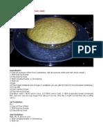 Bob Levin-Chinese Steamed Sponge Cake