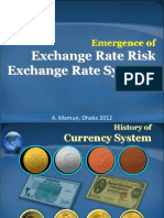 2. Exchange Rate Risk & Exchange Rate System