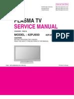 42PJ650 - Service Manual